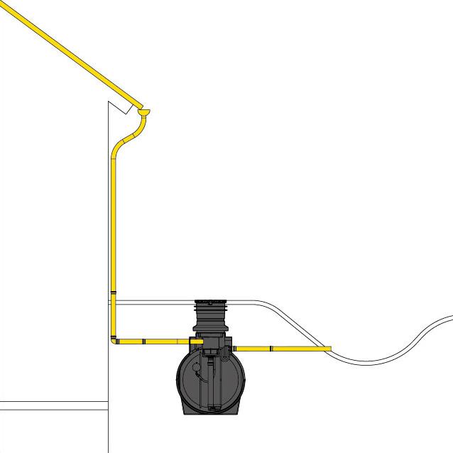 anschlussarten speidel regenwassernutzungsanlage und regenwasserzisternen als komplettl sung. Black Bedroom Furniture Sets. Home Design Ideas